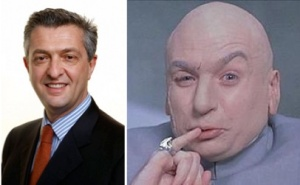 UNRWA Commissioner-General Filippo Grandi and Dr Evil: Twins separated at birth?
