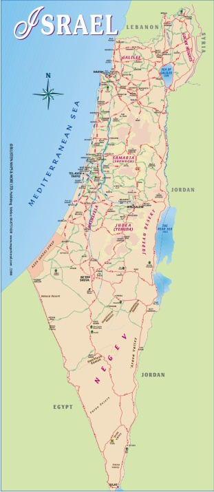 MapOfIsrael1