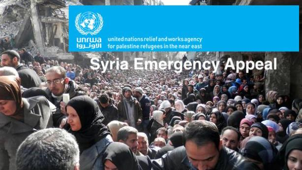 UNRWA donate